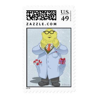 Holiday Dr. Bunsen Honeydew Stamp