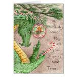 Holiday Dreams Greeting Card