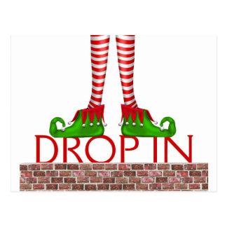 Holiday Drop In Postcard - SRF