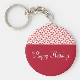 Holiday Effervescence Christmas Keychain