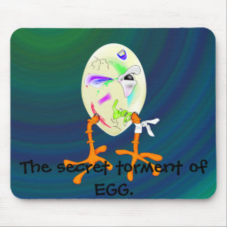 , Holiday egg, The secret torm... Mouse Pad