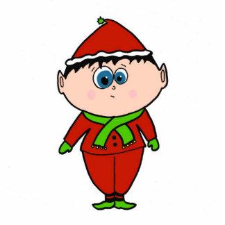 Holiday Elf Photo Cutouts