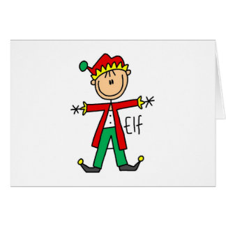 Holiday Elf T-shirts and Gifts Cards