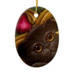 HOLIDAY FAIRY PERSIAN CAT Ornament