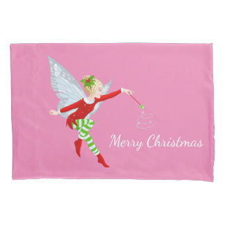 Holiday Fairy Pillow Case