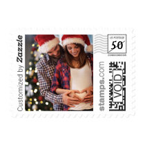 Holiday Family Photo PhotoStamp by Stamps.com