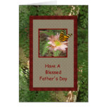Holiday ~ Father's Day ~ Blessed Greeting Card