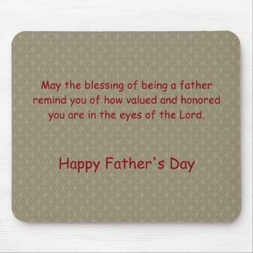 Holiday ~ Father's Day ~ Blessed Mouse Pad