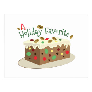 Holiday Favorite Postcard