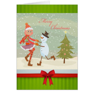 Holiday Feet Card