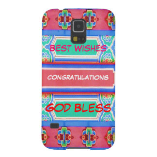 HOLIDAY Festival Fever : Wisdom Text Case For Galaxy S5