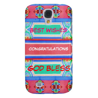HOLIDAY Festival Fever : Wisdom Text Galaxy S4 Cover