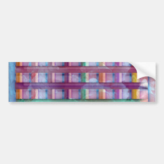 Holiday Fever : Illuminated Colorful Flourscent Ro Bumper Stickers