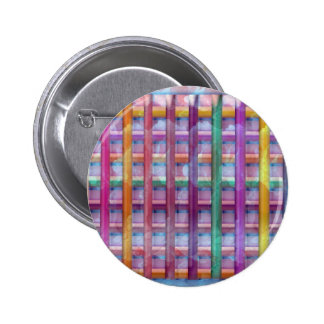 Holiday Fever : Illuminated Colorful Flourscent Ro Pinback Button