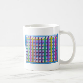 Holiday Fever : Illuminated Colorful Flourscent Ro Coffee Mug