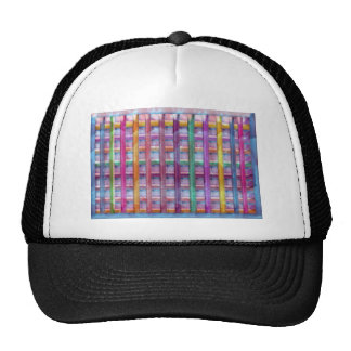 Holiday Fever : Illuminated Colorful Flourscent Ro Trucker Hat