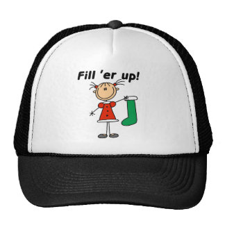 Holiday Fill 'er Up Tshirts and Gifts Trucker Hat