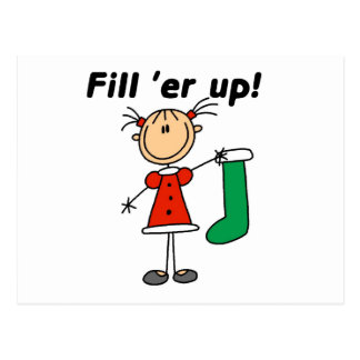 Holiday Fill 'er Up Tshirts and Gifts Postcard