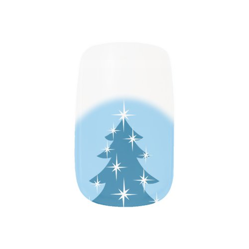 Holiday Fingernails Christmas Tree Nail Decals Minx® Nail Art