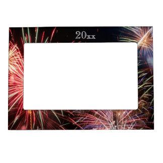 Holiday Fireworks Magnetic Frame