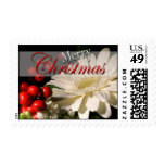 Holiday Flowers USPS Christmas Postage Stamp 2015