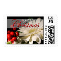 Holiday Flowers USPS Christmas Postage Stamp 2017