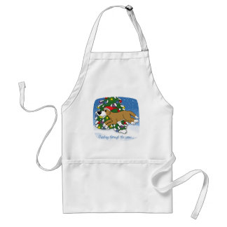 Holiday Flyball Aprons