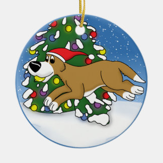 Holiday Flyball Christmas Ornament