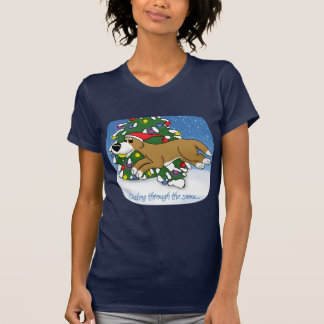 Holiday Flyball Ladies Tees