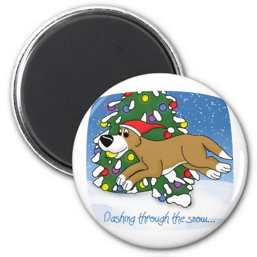 Holiday Flyball Magnets