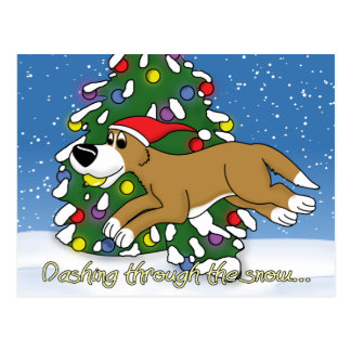 Holiday Flyball Post Cards