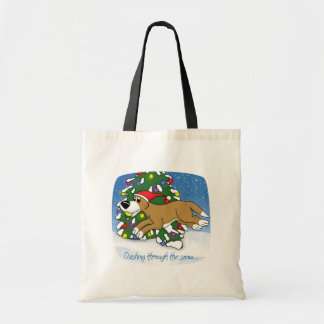 Holiday Flyball Tote Bags