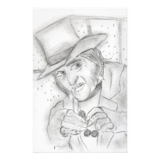 Holiday Flyer - Ebenezer Scrooge
