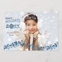 Holiday Foliage Photo Card