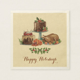 Holiday Food Napkin