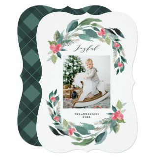 Holiday Forest Photo Card