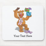 Holiday Fozzie the Bear 2 Mouse Pad