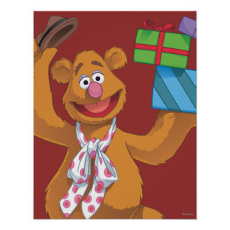 Holiday Fozzie the Bear 2 Poster