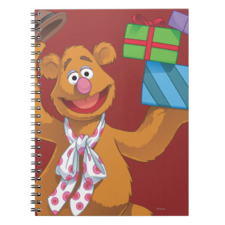 Holiday Fozzie the Bear 2 Spiral Notebook