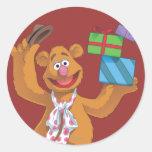 Holiday Fozzie the Bear 2 Sticker