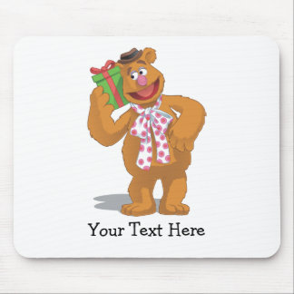 Holiday Fozzie the Bear Mouse Pad