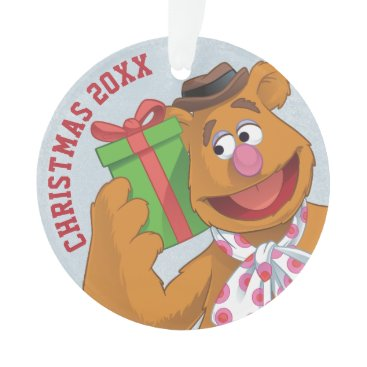 Disney Themed Holiday Fozzie the Bear Ornament