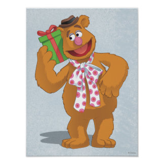 Holiday Fozzie the Bear Poster