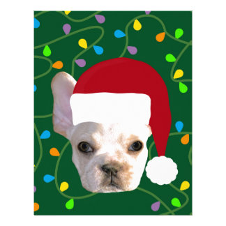 Holiday Frenchie Letterhead