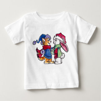 Holiday Friends Baby T-Shirt