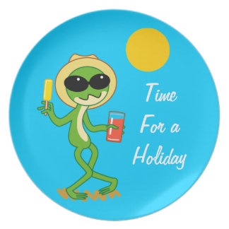 Holiday Frog Plate