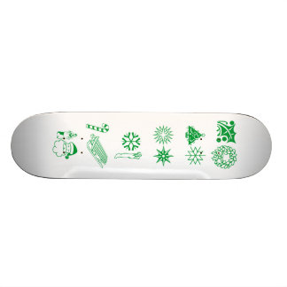Holiday Fun Skate Board
