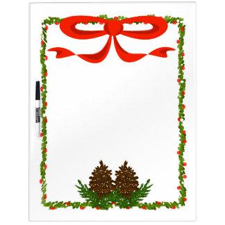 Holiday Garland Dry Erase Board