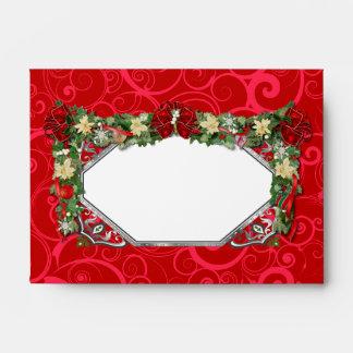 Holiday Garland Envelopes