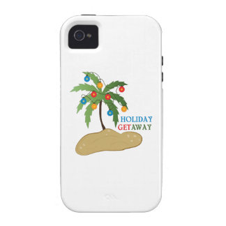 Holiday Get Away Vibe iPhone 4 Case